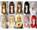 Cospaly Multicolor Barbie Wig 芭比娃娃中长假发 - LLC1