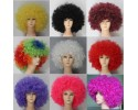 Cospaly Multicolor Large Explosive Head Unisex Wig  多色 超大爆炸头 男女通用假发- UM001
