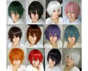Cospaly Multicolor Men Anime Wig 多色 男士动漫角色扮演假发  - MS421