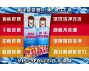 Mini Sponge 2 IN 1 Makeup Remover Cleanser 迷你海绵 (2合1 = 卸妆 + 洗脸) 80ml